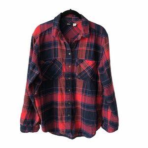 UO BDG Red Blue Flannel medium